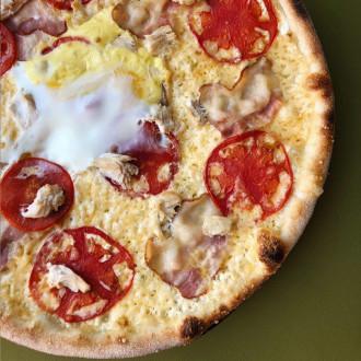 Піца «Карбонара» 33 cм.